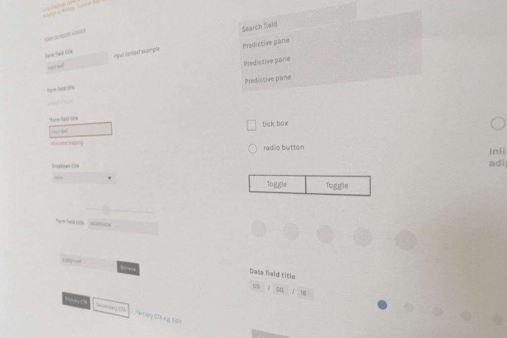 UX design development