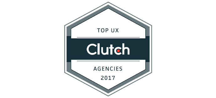 Top UX UI Agency in the world as voted by Clutch